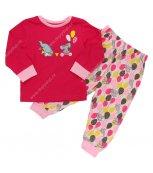 Dívčí pyžamo WOLF S2559 tm.růžové