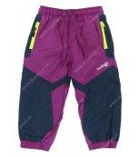Kalhoty s fleesovou podšívkou WOLF B2571 fialové