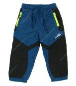 Kalhoty s fleesovou podšívkou WOLF B2571 petrolejové
