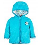 G-Mini sametový kojenecký kabátek G6083