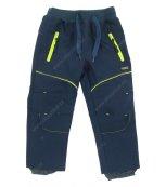 Dětské softshellové kalhoty WOLF B2681 tmavě modré