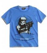Dětské tričko s krátkým rukávem STAR WARS modré