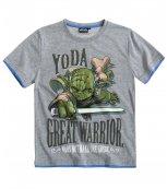 Dětské tričko s krátkým rukávem STAR WARS šedé