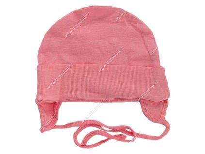 Bavlněná čepička G-mini G1600 růžová