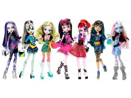 MONSTER HIGH Panenka