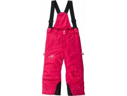 LOAP TERON dětské zimní kalhoty červené
