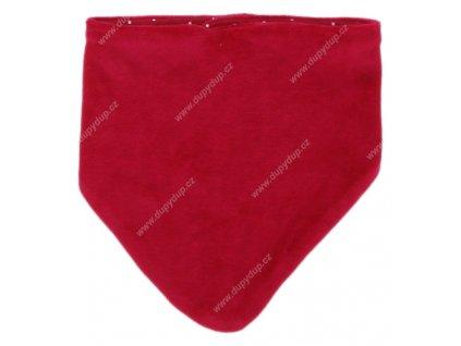 G-mini sametový šátek - slintáček G3376
