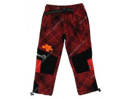 Dětské kalhoty NEVEREST 988 červené