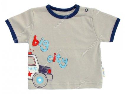 Tričko s krátkým rukávem EWA - NEON šedé
