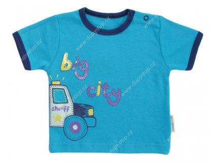 Tričko s krátkým rukávem EWA - NEON modré