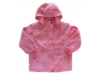 Dívčí bunda WOLF B2182 sv.růžová