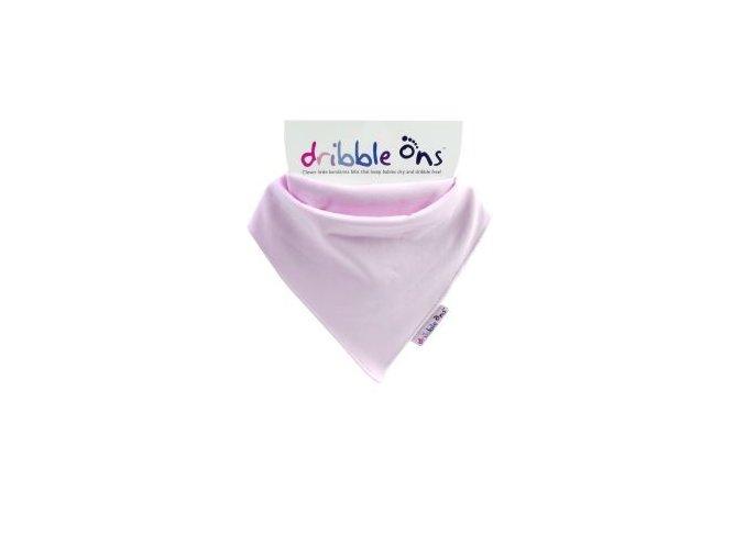 KIKKO bryndák/ slintáček - Dribble Ons® Baby Pink