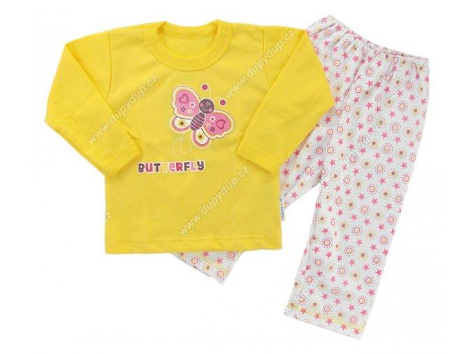 Dětské pyžamo EWA - žluté