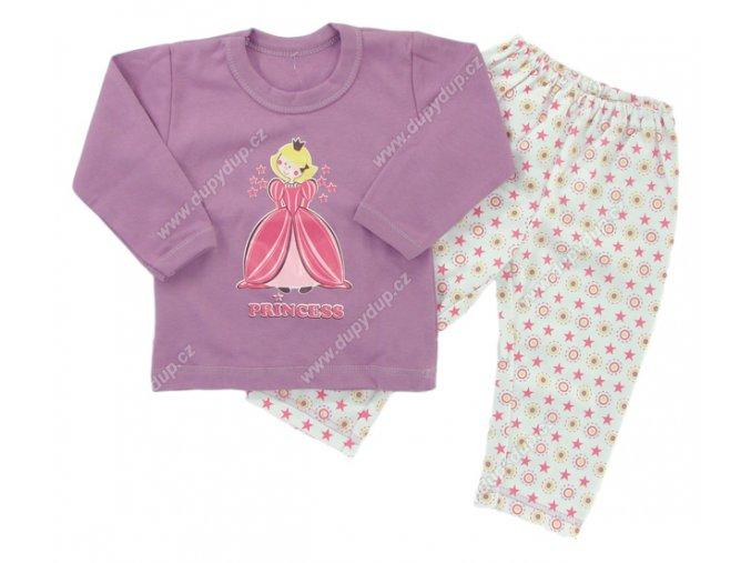 Dětské pyžamo EWA - fialové