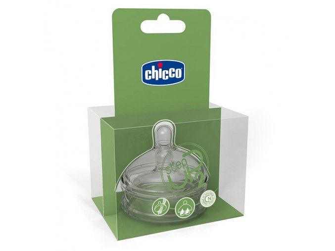 CHICCO  StepUp Dudlík S 4+ 3d 2ks