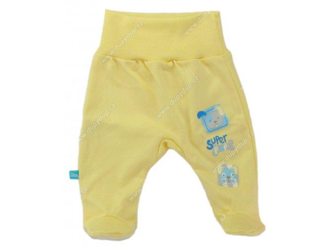Kojenecké polodupačky EWA SUPER PUP - žluté