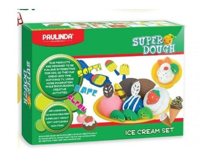 Modelína SUPER DOUGH - Výroba zmrzliny
