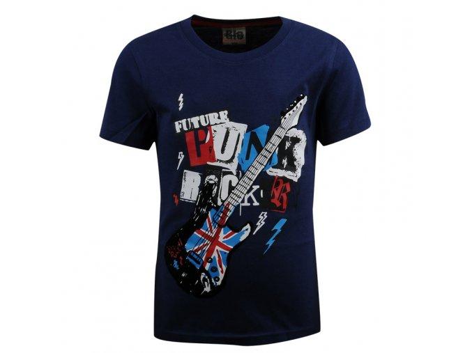 Tričko s krátkým rukávem GLO-STORY 3597 tm.modré