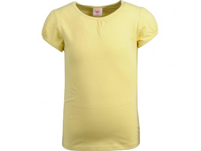 Tričko s krátkým rukávem GLO-STORY 3551 žluté
