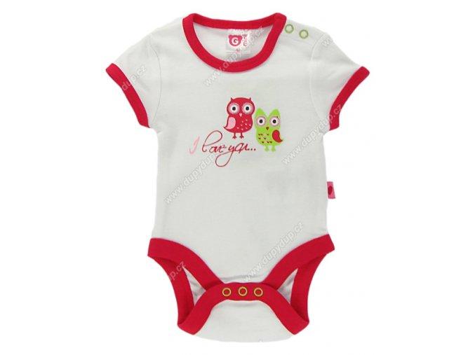 G-mini kojenecké body s krátkým rukávem G4012