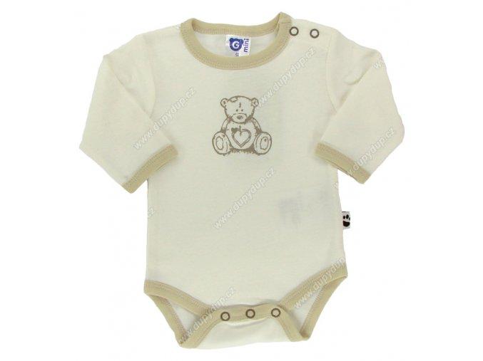 G-mini kojenecké body s dlouhým rukávem G 4057