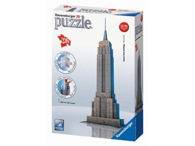 Empire State Building Puzzle 3D 216 dílků