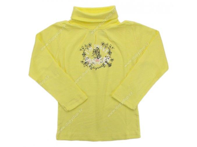 Dívčí rolák WOLF S2367 žlutý