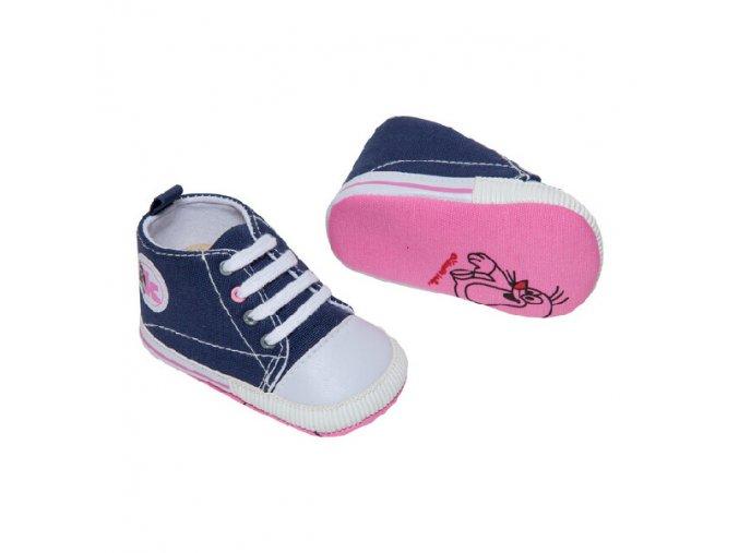 Capáčky + ponožky G-MINI K5000 modrá + růžová