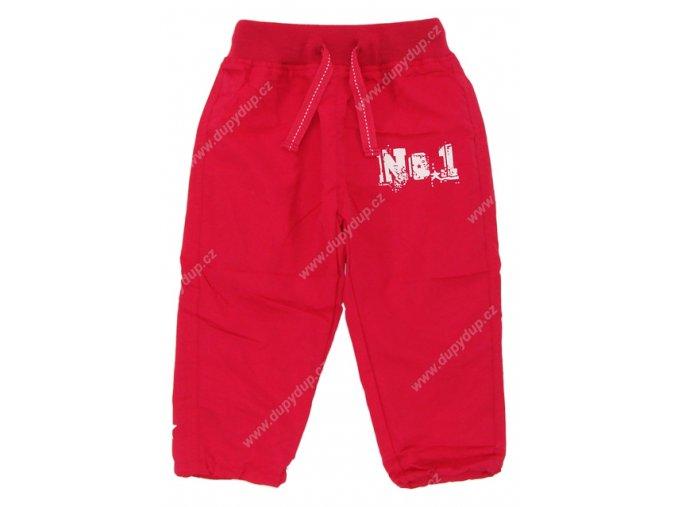 Dětské kalhoty s podšívkou PIDILIDI růžové