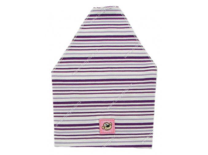 Dívčí šátek PIDILIDI PD623 fialový