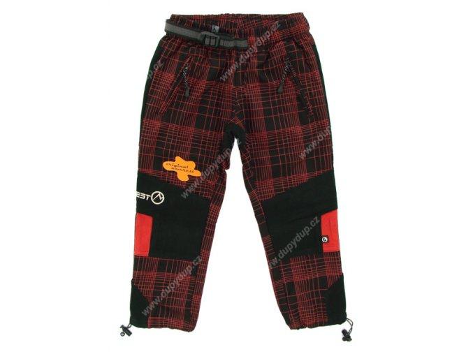 Dětské kalhoty NEVEREST 919 červené