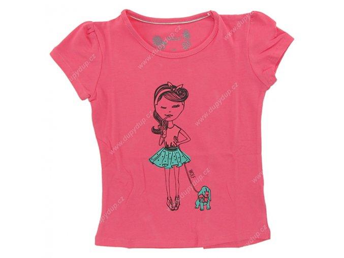 Dívčí tričko WOLF S 2521 růžové