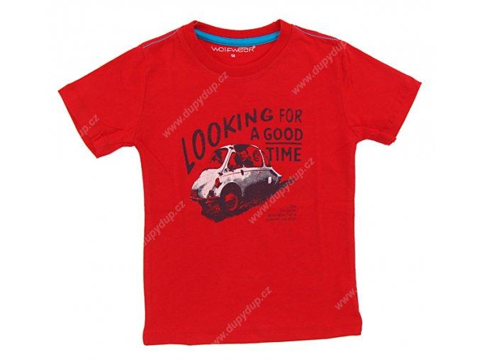 Chlapecké triko WOLF S 2502 červené