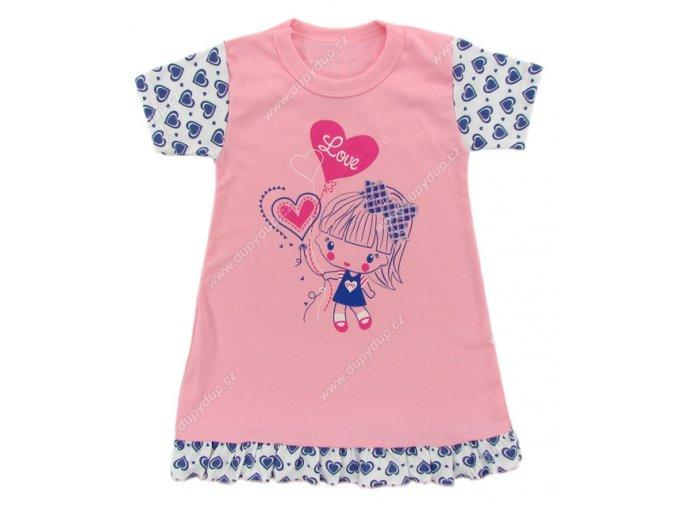 Noční košilka EWA Good night růžová
