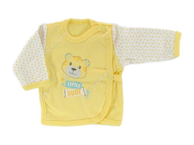 Kojenecká košilka EWA SWEET žlutá