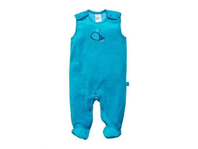 G-mini sametové kojenecké dupačky G5146