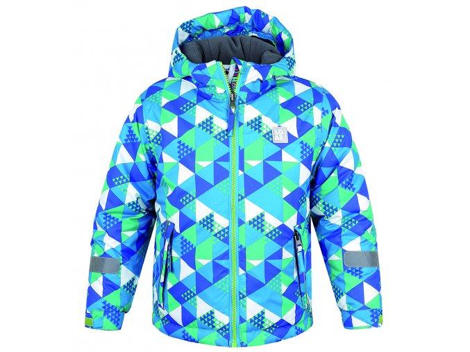 Zimní dětská bunda L4200 - ADAM modrá