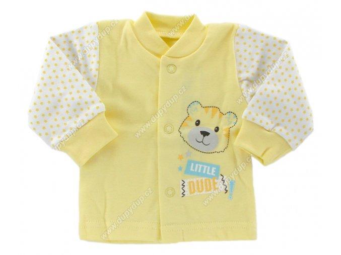 Kojenecký kabátek EWA - SWEET žlutý