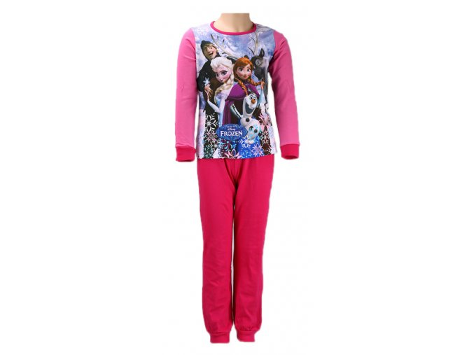 Dětské pyžamo Frozen červené