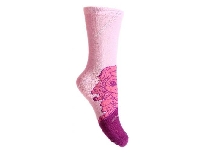 Dětské ponožky Sofie růžové