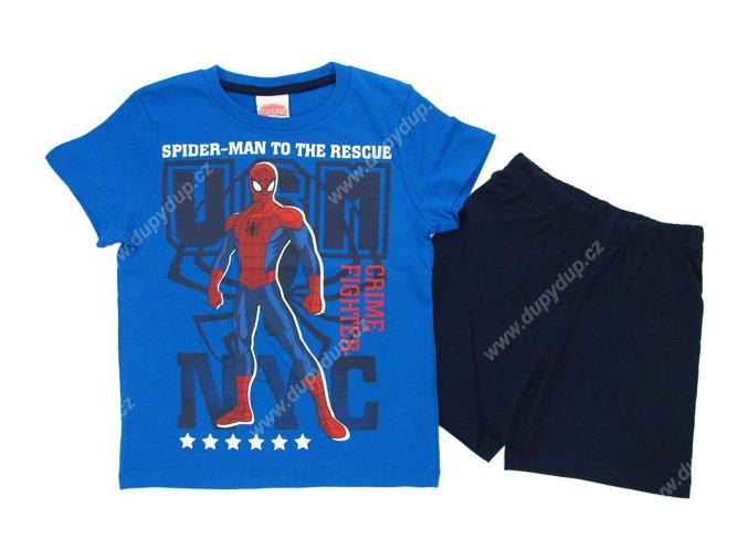 Chlapecké pyžamo SPIDER MAN modré