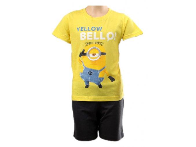 Dětské pyžamo MIMONI žluté