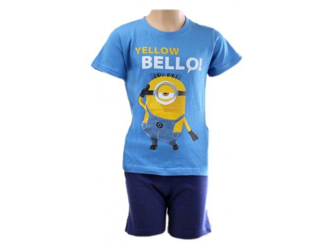 Dětské pyžamo MIMONI modré