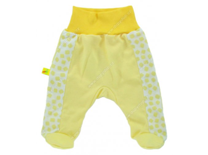 Kojenecké polodupačky EWA Petite žluté