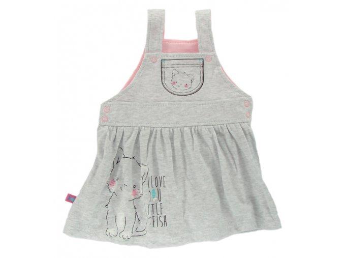 Kojenecké šatičky - sukýnka EWA Petite - růžová
