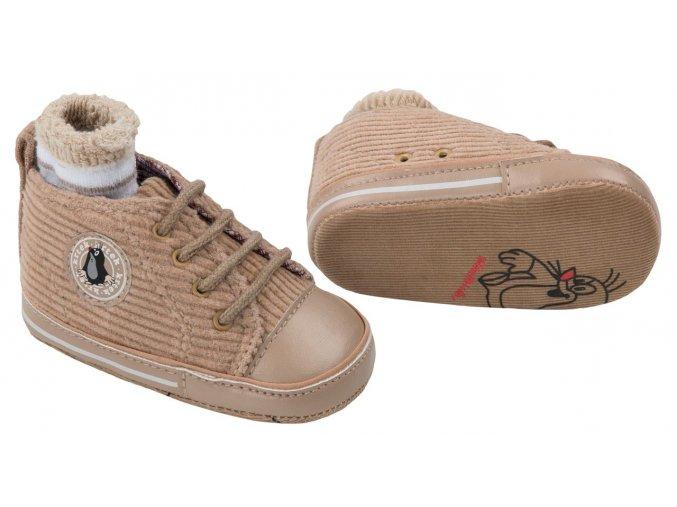 Capáčky + ponožky G-MINI K5110 hnědé