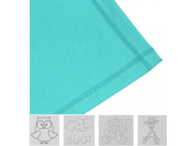 EMITEX Letní deka bavlna 80x100 cm s výšivkou