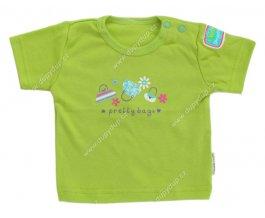 Tričko s krátkým rukávem EWA - NEON zelené