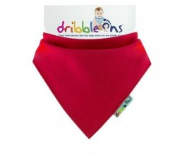 KIKKO bryndák/ slintáček - Dribble Ons®  Bright - RED
