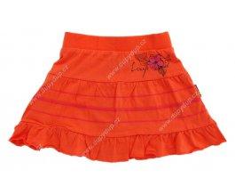 Dívčí sukně LOAP ZIMGA L3024 oranžová
